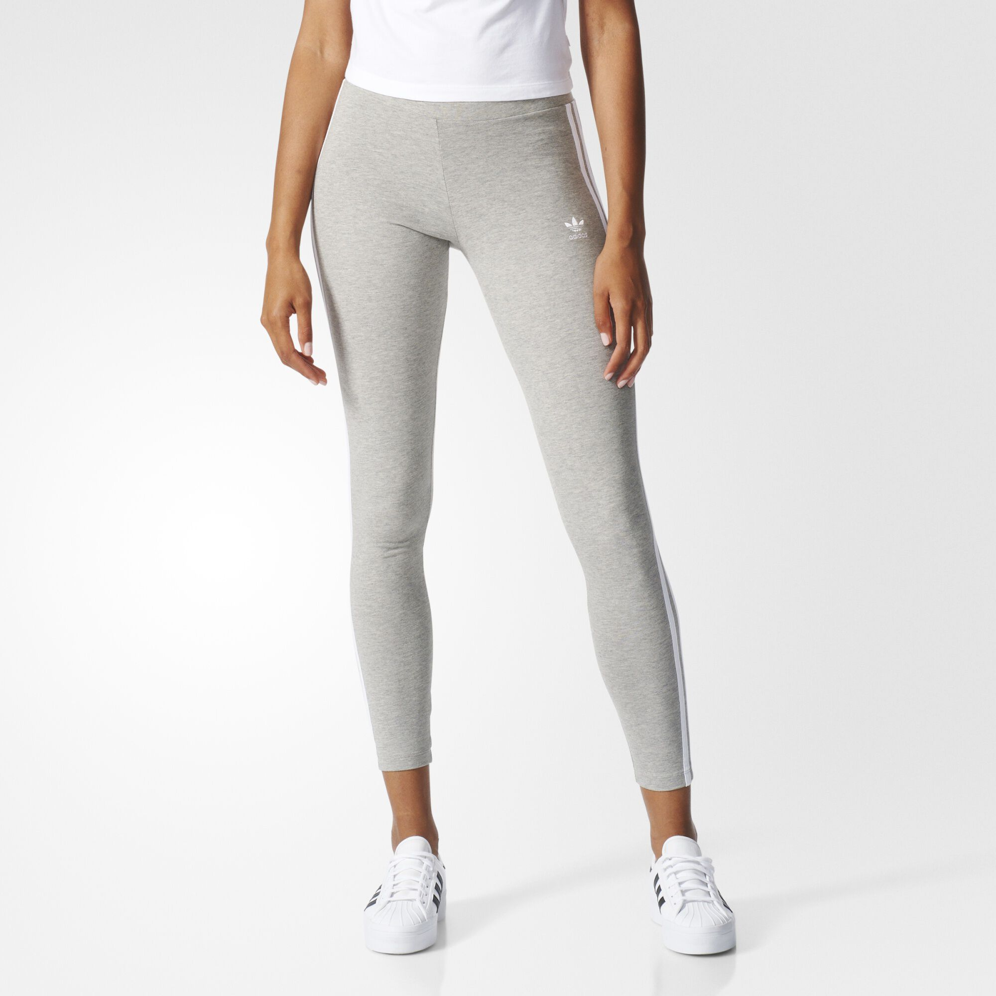 adidas 3 stripes leggings grey adidas us