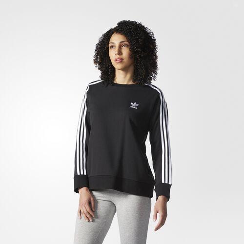 adidas - 3-Stripes Sweatshirt Black AY5242