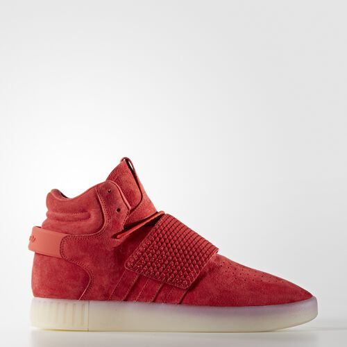 adidas - Tubular Invader Strap Shoes Red  /  Red  /  Vintage White BB5039