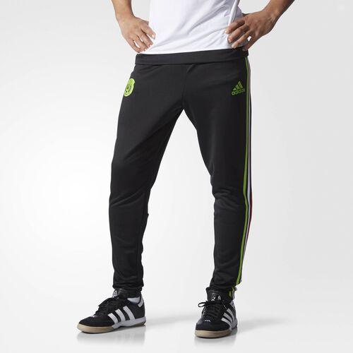 adidas - Mexico Training Pants Black  /  Semi Solar Green S13143