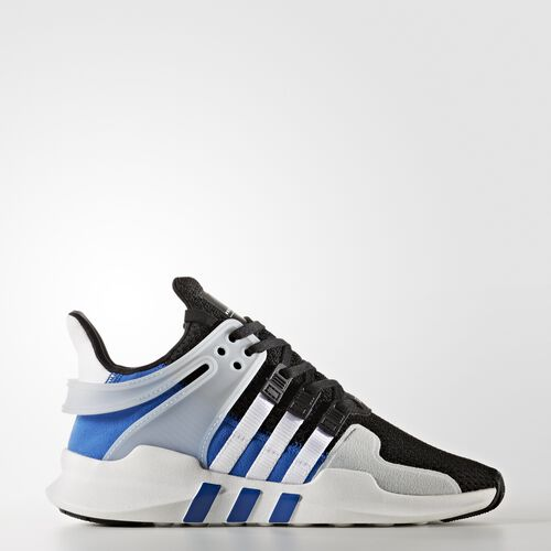 adidas - EQT Support ADV Shoes Core Black  /  Running White  /  Blue BY9867