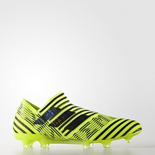 adidas - Nemeziz 17+ 360 Agility Firm Ground Cleats Solar Yellow  /  Black  /  Black BB3678