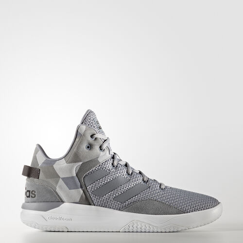 adidas - Cloudfoam Revival Mid Shoes Grey  /  Grey  /  Core Black AW3950