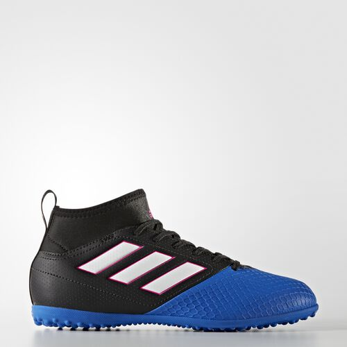 adidas - ACE 17.3 Primemesh Turf Shoes Core Black  /  Running White Ftw  /  Blue BA9223