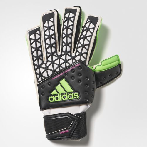 adidas - Ace Zones Ultimate Goalkeeper Gloves Black  /  White  /  Neon Green AH7802