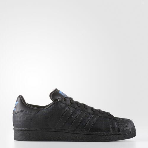 adidas - Superstar Shoes Core Black  /  Core Black  /  Bluebird AQ8335