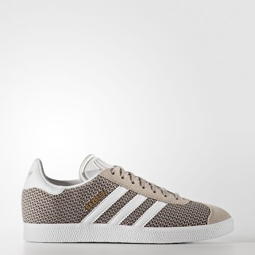 adidas - Gazelle Shoes Vapour Grey  /  Running White  /  Vapour Grey BB5176