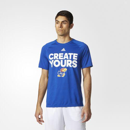adidas - Jayhawks Create Yours Tee Collegiate Royal CR9572