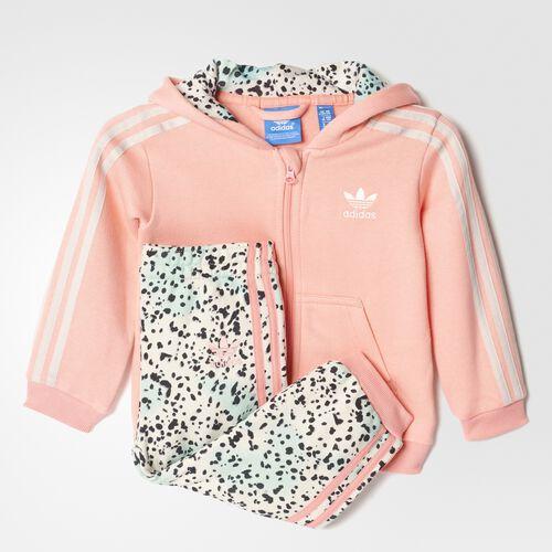 adidas - YWF Hoodie Set Ray Pink  /  Multicolor AY8544