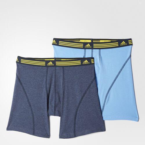 adidas - Athletic Stretch Boxer Briefs 2 Pairs Multicolor S49142