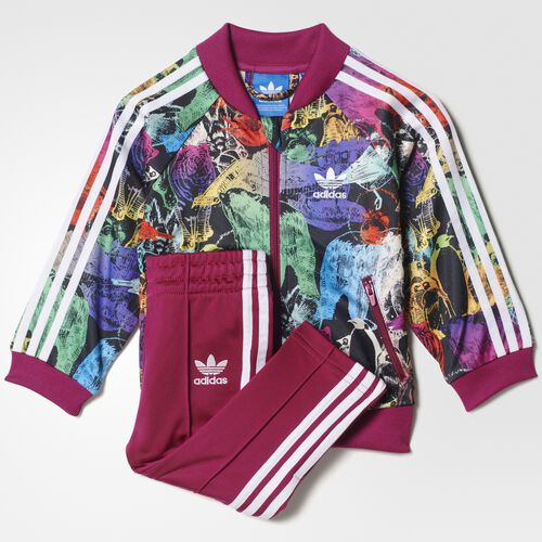 adidas - Animal Superstar Track Suit Multicolor  /  White S95976