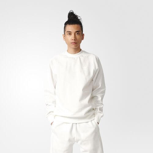 adidas - Deluxe Crew Sweatshirt White BJ9537
