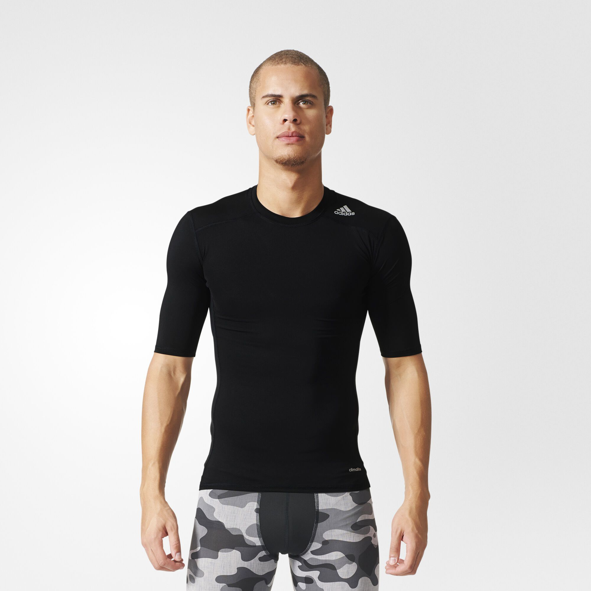 adidas Techfit Base Tee - Black | adidas US