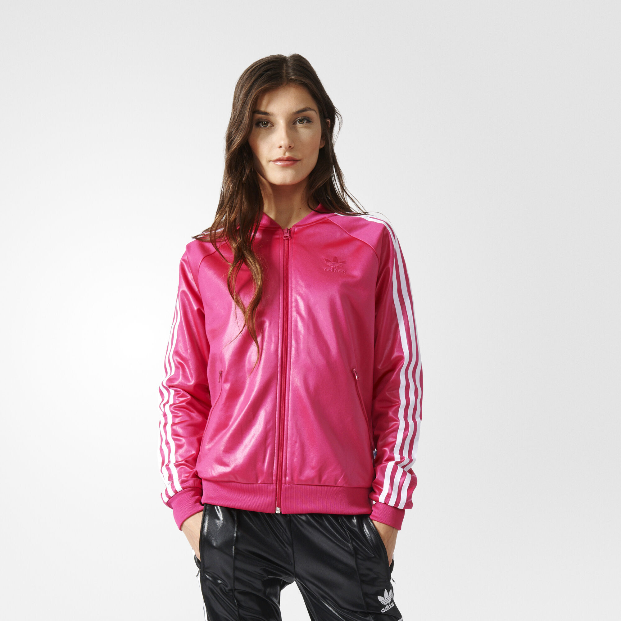 adidas sst track jacket pink adidas us. Black Bedroom Furniture Sets. Home Design Ideas