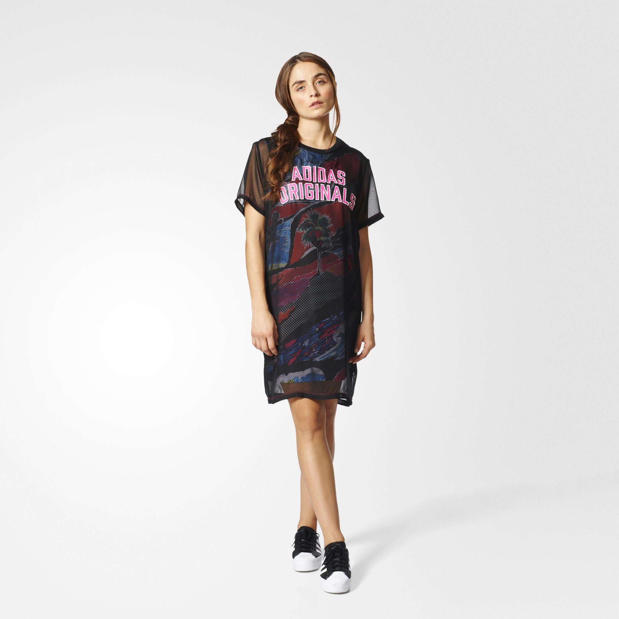 Black dress size 4 adidas