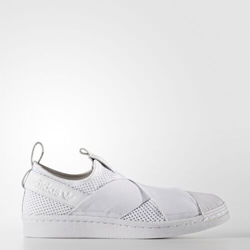 adidas - Superstar Slip-on Shoes Running White  /  Running White  /  Core Black BY2885