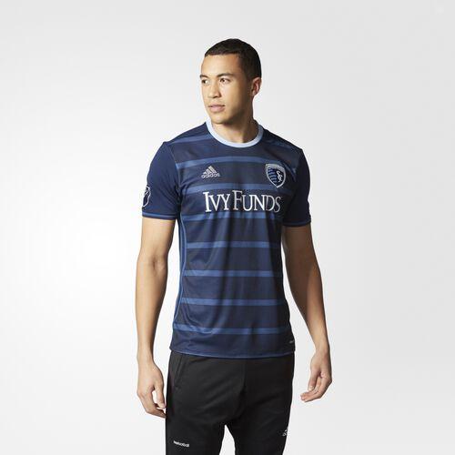 adidas - Sporting KC Away Replica Jersey Collegiate Navy  /  Uniform Blue  /  Smoke Blue AB9409