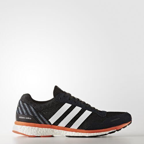 adidas - adizero Adios 3 Shoes Core Black  /  Running White BA7934