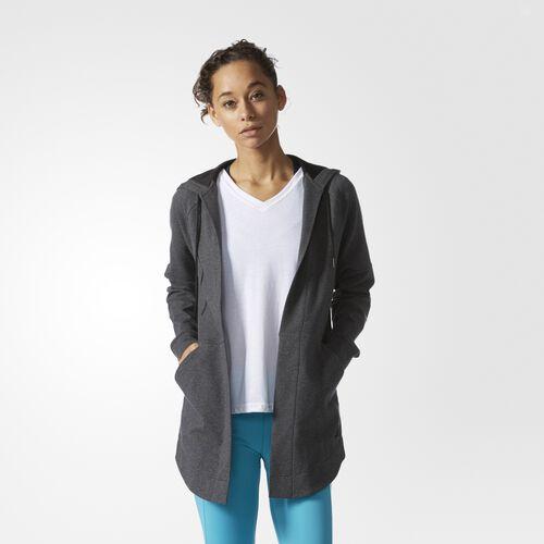 adidas - Comfort Cover-Up Top Dark Grey Heather BK1508