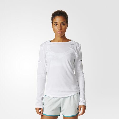 adidas - Sequencials Climalite Running Top White AX7509