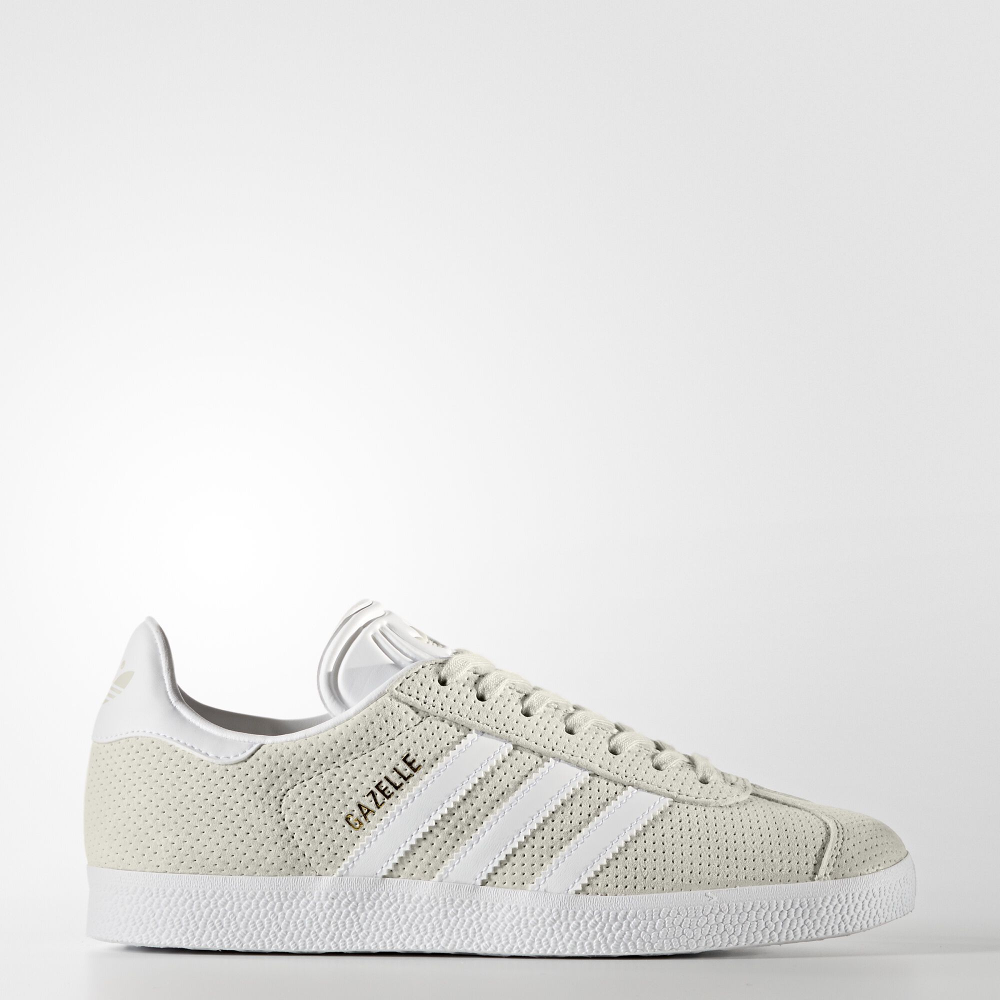 4a1c5a9cccb7b6 adidas NEO Label Fall Winter 2014  adidas - Gazelle Shoes Clear Brown    Running White   Metallic Gold BY9360