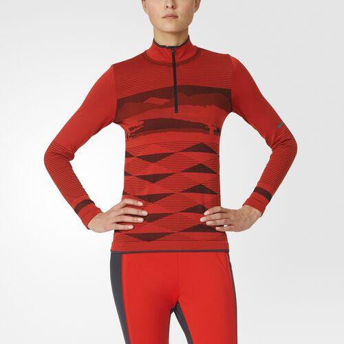 adidas - Wintersport Seamless Top Red  /  Black AX7347