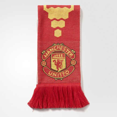 adidas - Manchester United FC Home Scarf Real Red  /  University Red S95095
