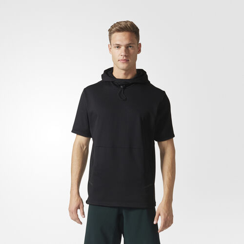 adidas - Hooded Workout Top Black BR8523