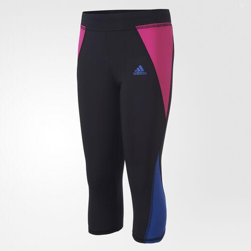 adidas - Colorblock Capris Black Heather BI5354