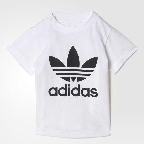 adidas - Trefoil Tee White  /  Black BJ8515