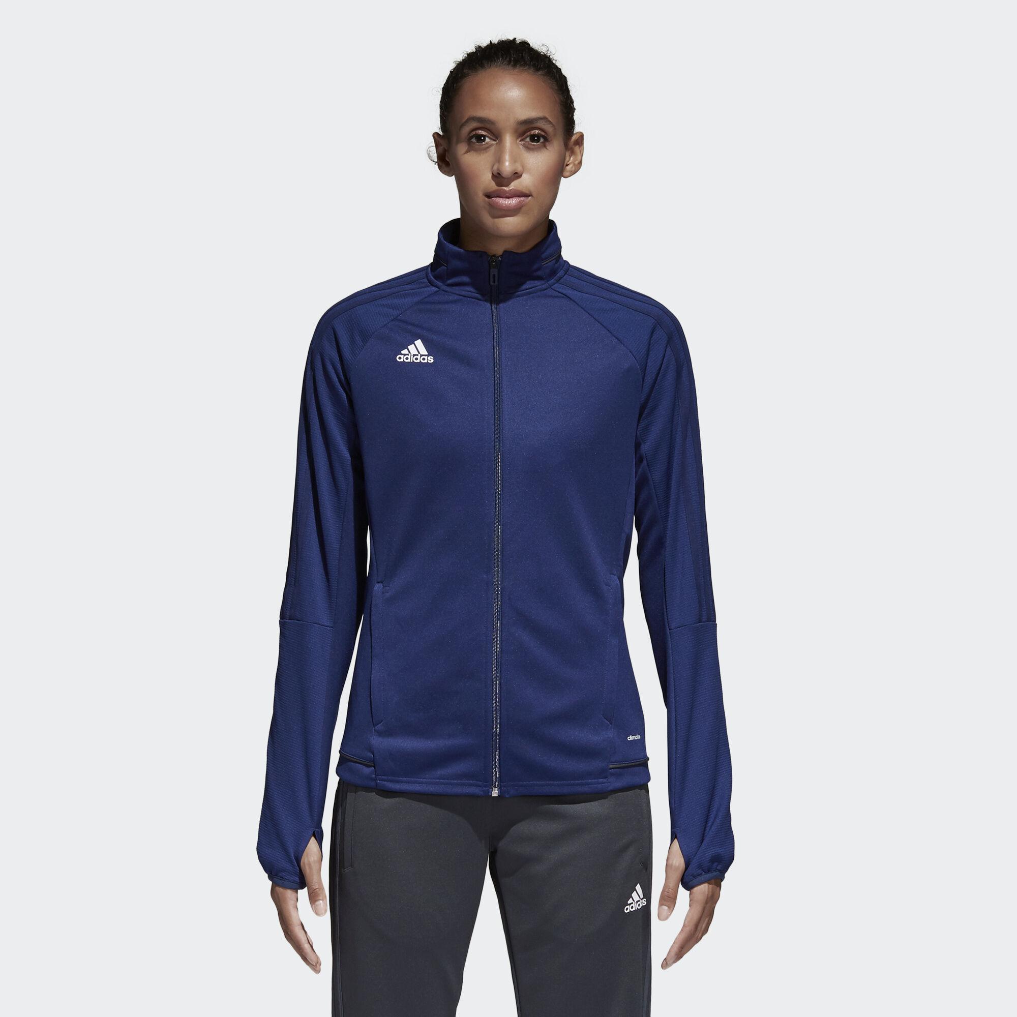 Adidas jacket - Adidas Tiro 17 Training Jacket Blue Dark Shale White Bq8248