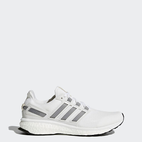 adidas - Energy Boost 3 Shoes Running White Ftw  /  Charcoal Solid Grey AQ5960
