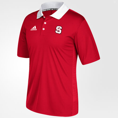 adidas - Wolfpack Sideline Coaches Polo Shirt Red BV2827