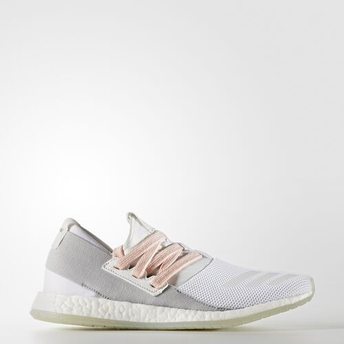 adidas - Pure Boost R Shoes Crystal White  /  Running White Ftw  /  Clear Onix BB4134