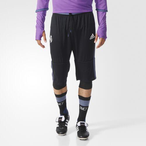 adidas - Real Madrid Three-Quarter Soccer Pants Black AO3115