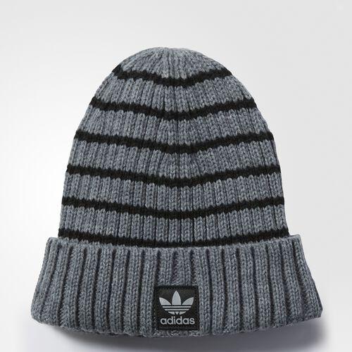 adidas - National Knit Beanie Medium Grey Heather BA6736