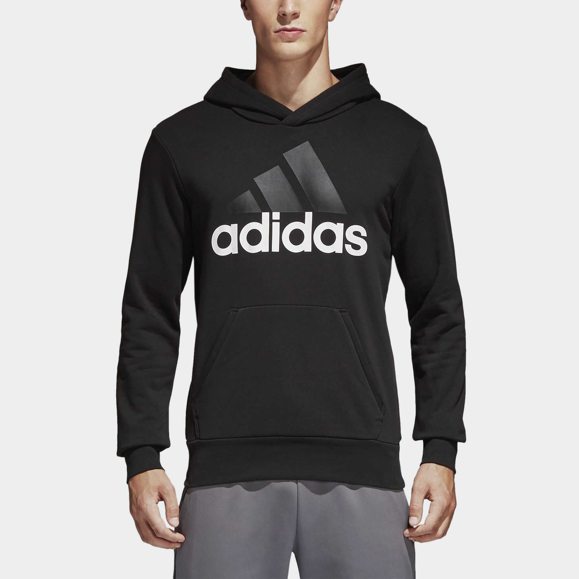 adidas black and white hoodie