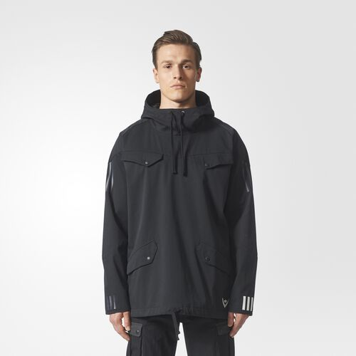 adidas - White Mountaineering Pullover Hoodie Black BQ4123