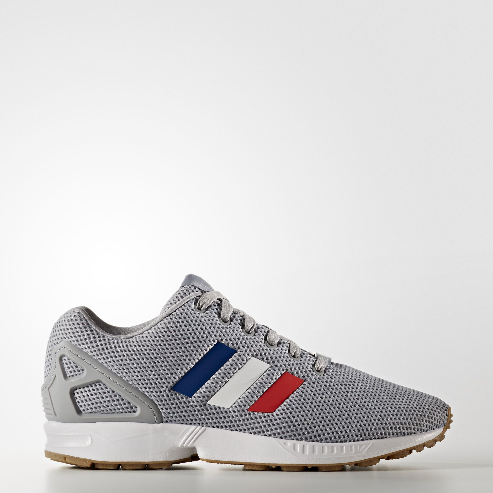 Newest Adidas Originals Zx Flux Grey Mens Trainers Outlet UK0197