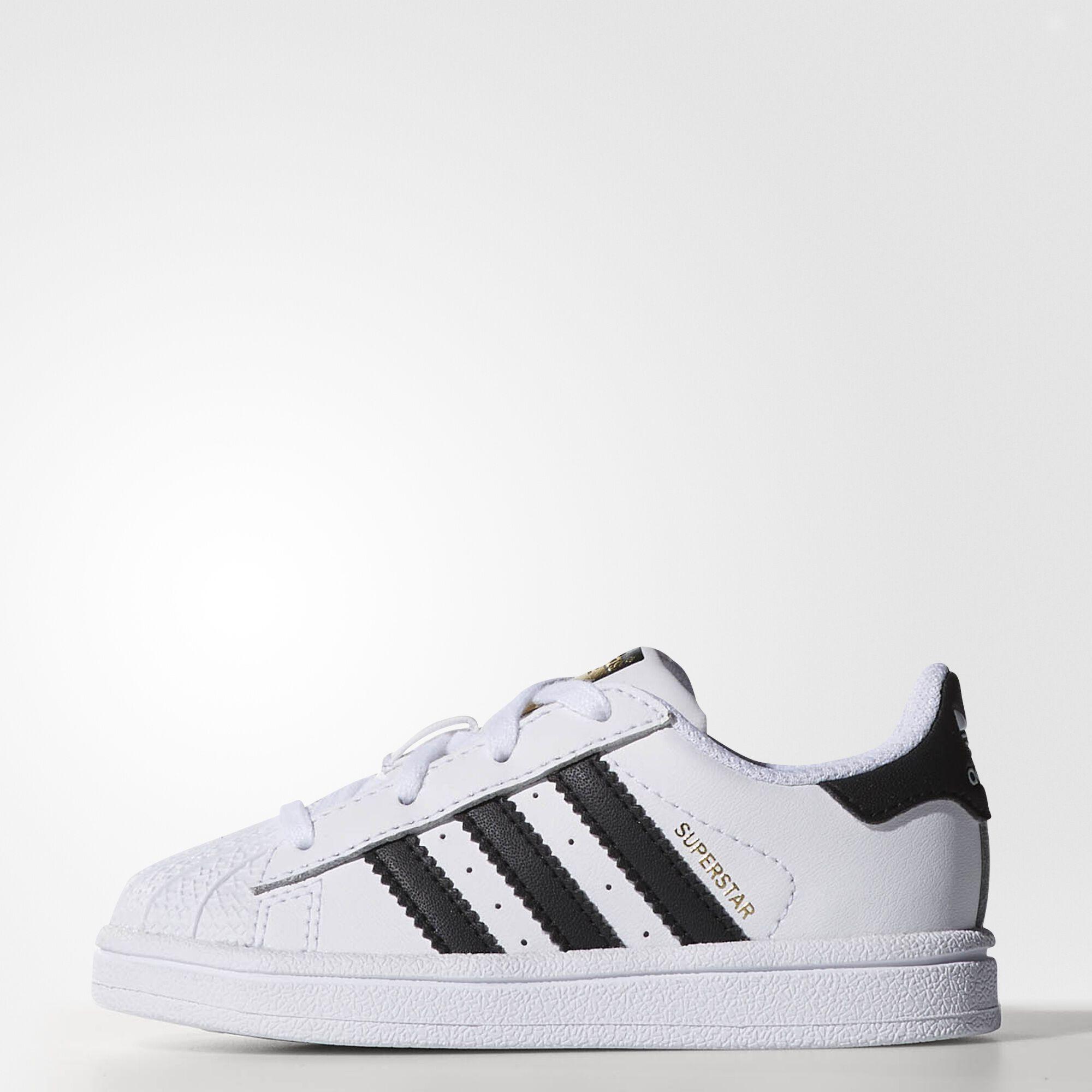 adidas - Superstar Shoes Running White Ftw / Black / Running White ...