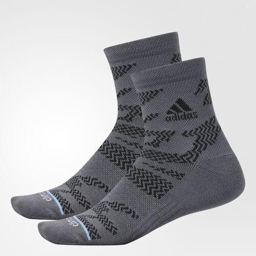 adidas - Tiger Style Quarter Socks 2 Pairs Onix CI0691