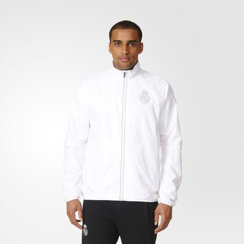 adidas - Real Madrid Jacket White  /  Reflective AP7190