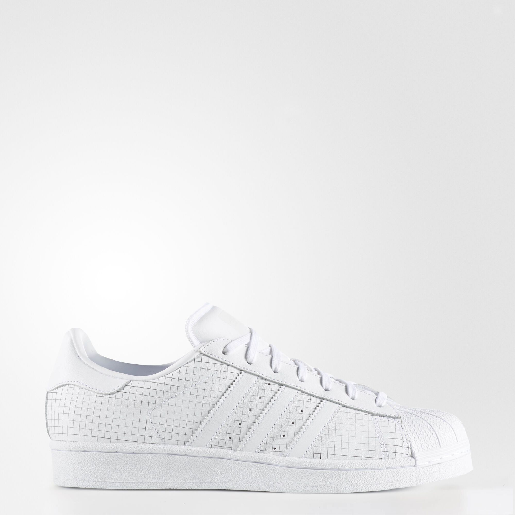 Buy adidas Originals Mens Superstar 80s Primeknit Trainers White