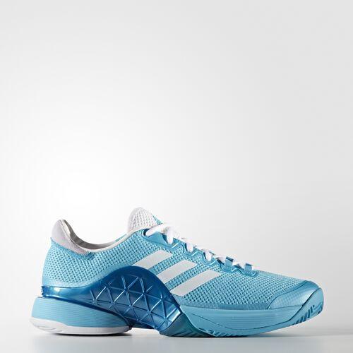 adidas - Barricade 2017 Shoes Samba Blue  /  Running White  /  Running White AQ6295