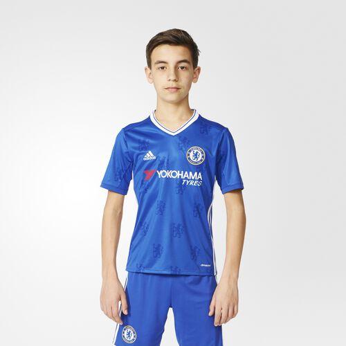 adidas - Chelsea FC Home Replica Jersey Chelsea Blue  /  White AI7124