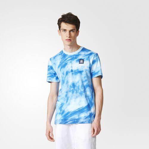 adidas - Sky Dye Tee White  /  Bluebird AY8881