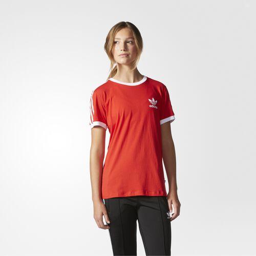 adidas - 3-Stripes Tee Vivid Red AY4620