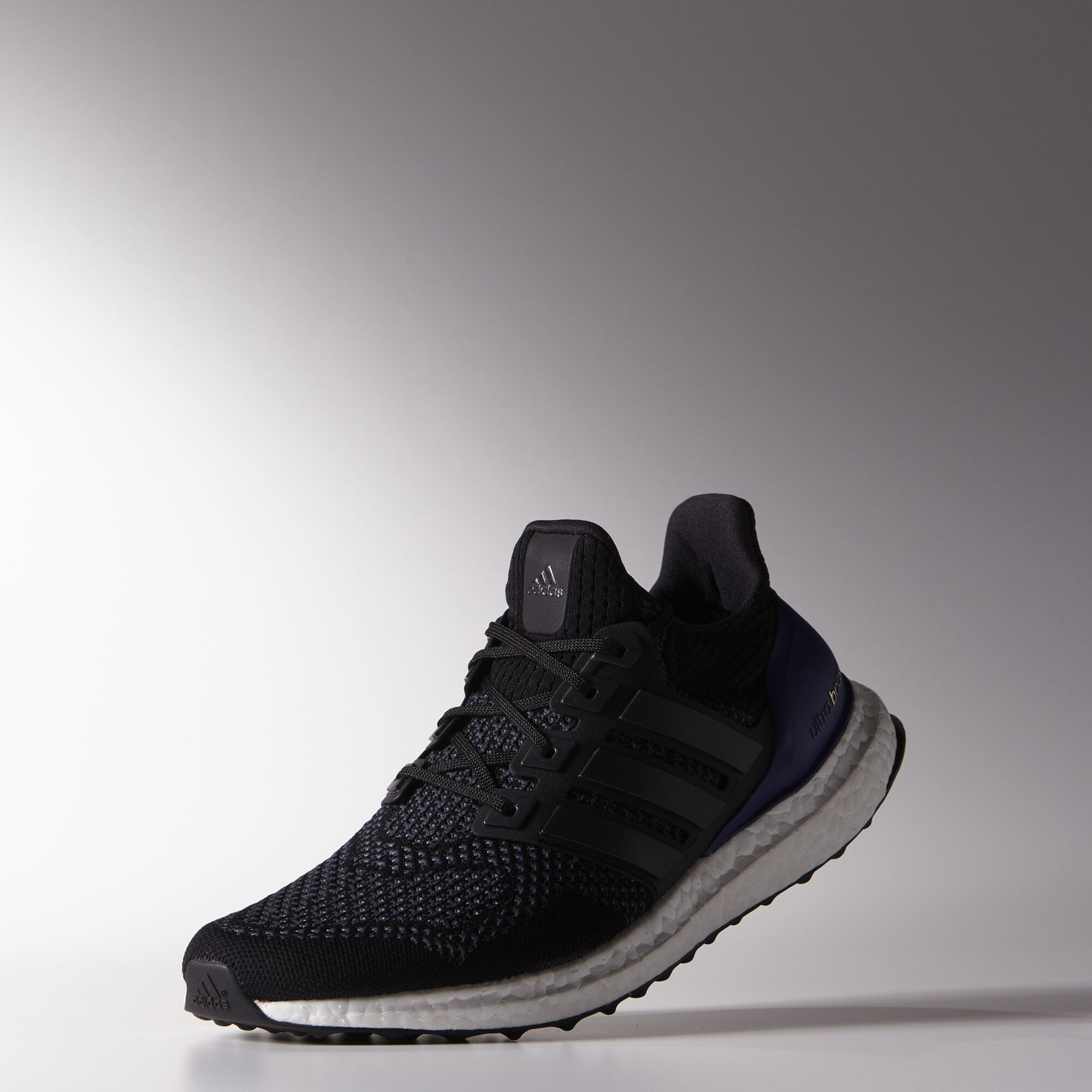 96d9dc84 adidas: Ultra Boost Core Black CW: Core Black/Gold Metal/Purple SKU: B27171  Release: 03.18.15. Retail: $180