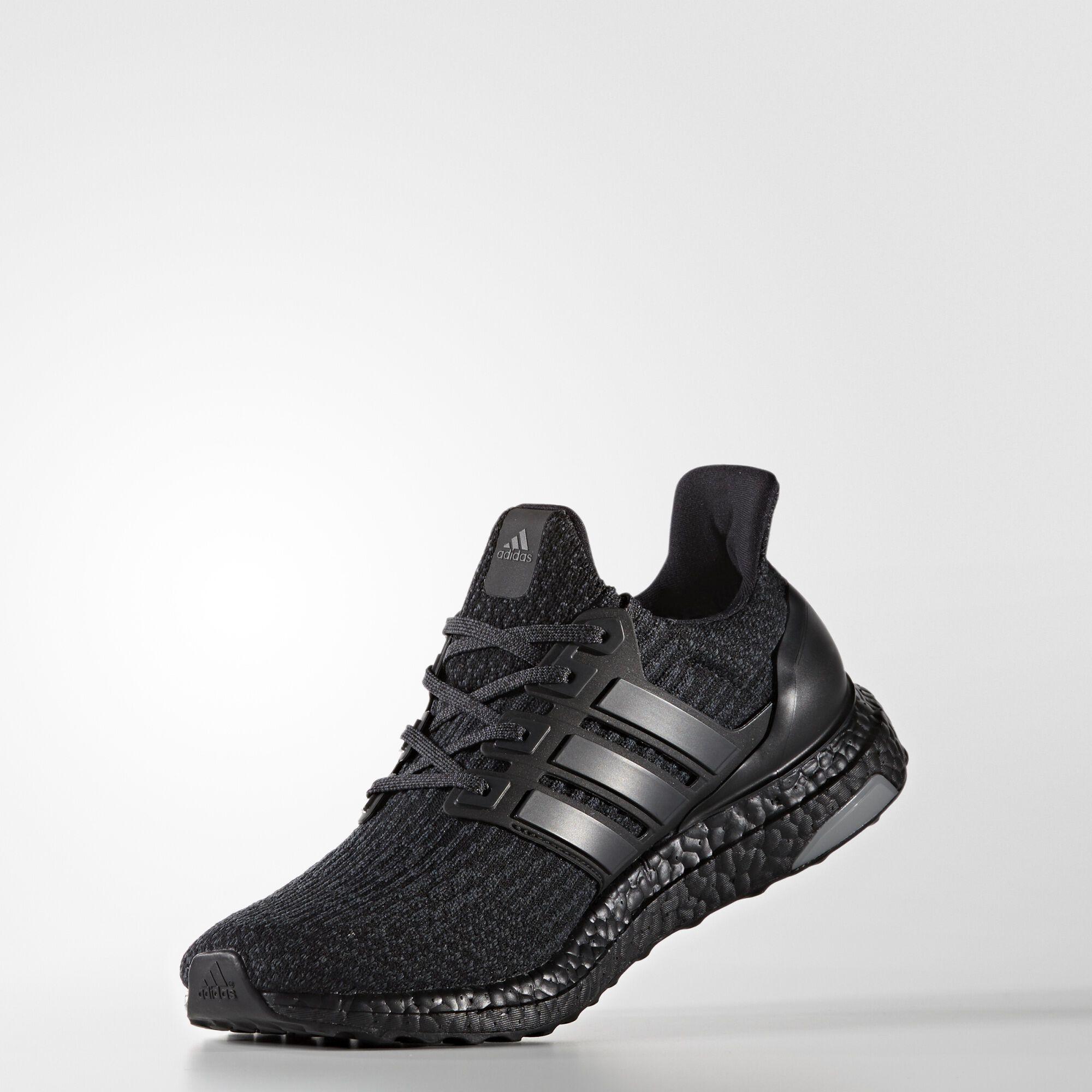 90ccb79a adidas: Ultra Boost 3.0 'Triple Black' CW: Core Black/Black/Black SKU:  BA8920 Release: 03.01.17. Retail: $200