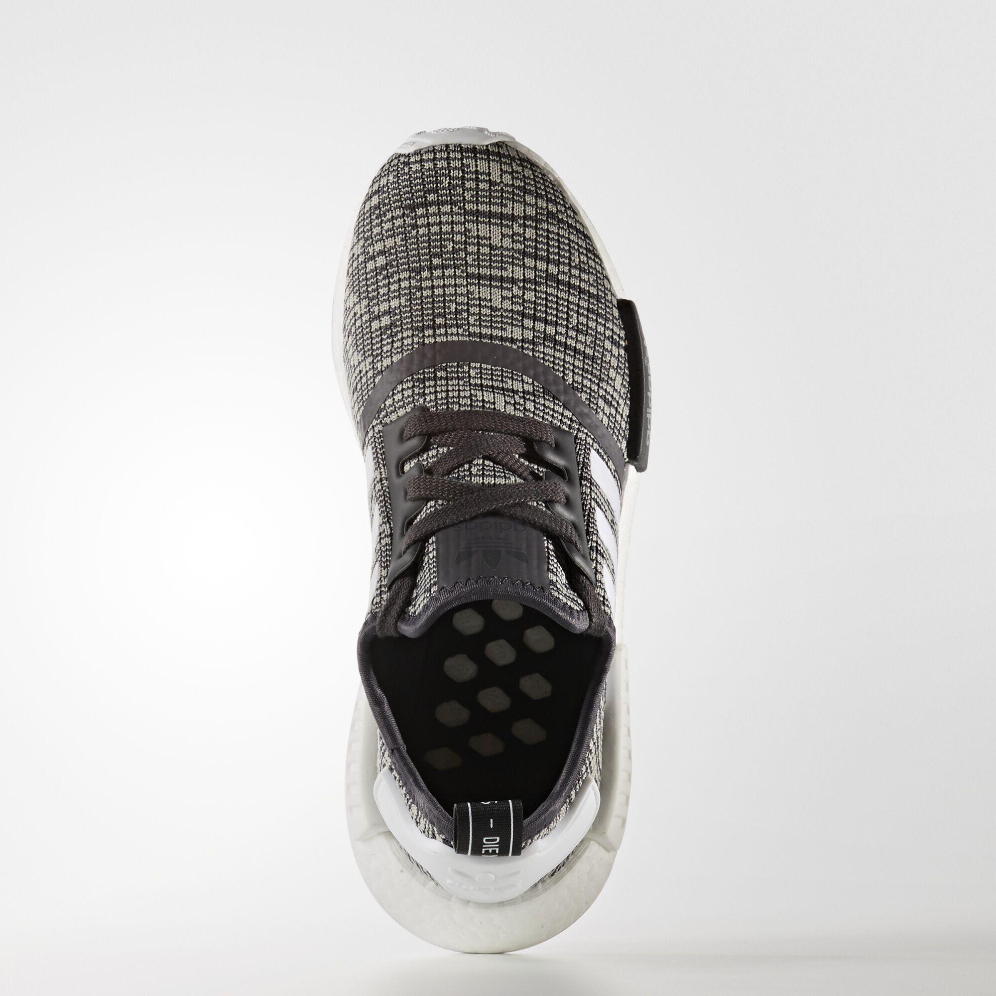 9518bd9dc adidas  Wmns NMD R1  Glitch  CW  Utility Black Running White Footwear White Multi  Solid Grey SKU  BY3035 Release  04.06.17. Retail   130